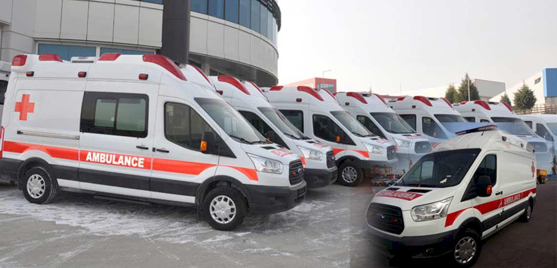 Giới thiệu Xe cứu thương Ford Transit nhập khẩu
