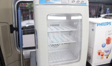 Máy sấy được trang bị trên xe kiểm nghiệm