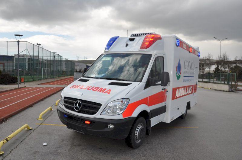 Xe cứu thương Mercedes Sprinter Ambulance
