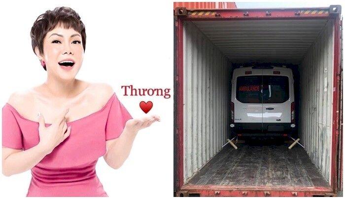 Việt Hương trả đủ hơn 2,5 tỷ đồng tiền xe cứu thương tặng ông Đoàn Ngọc Hải